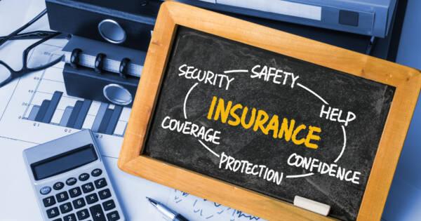 Insurance Chalkboard Near Calculator and Graphs