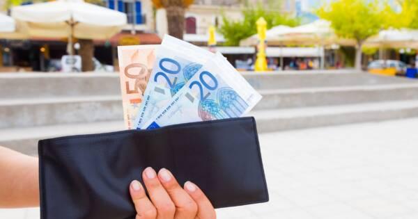 Wallet Full of Money on Vacation