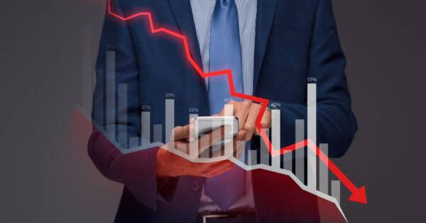 Rookie Analyzing Downward Chart