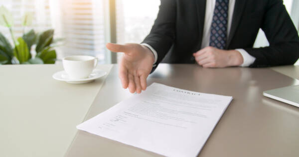 Personal Liability Insurance paperwork